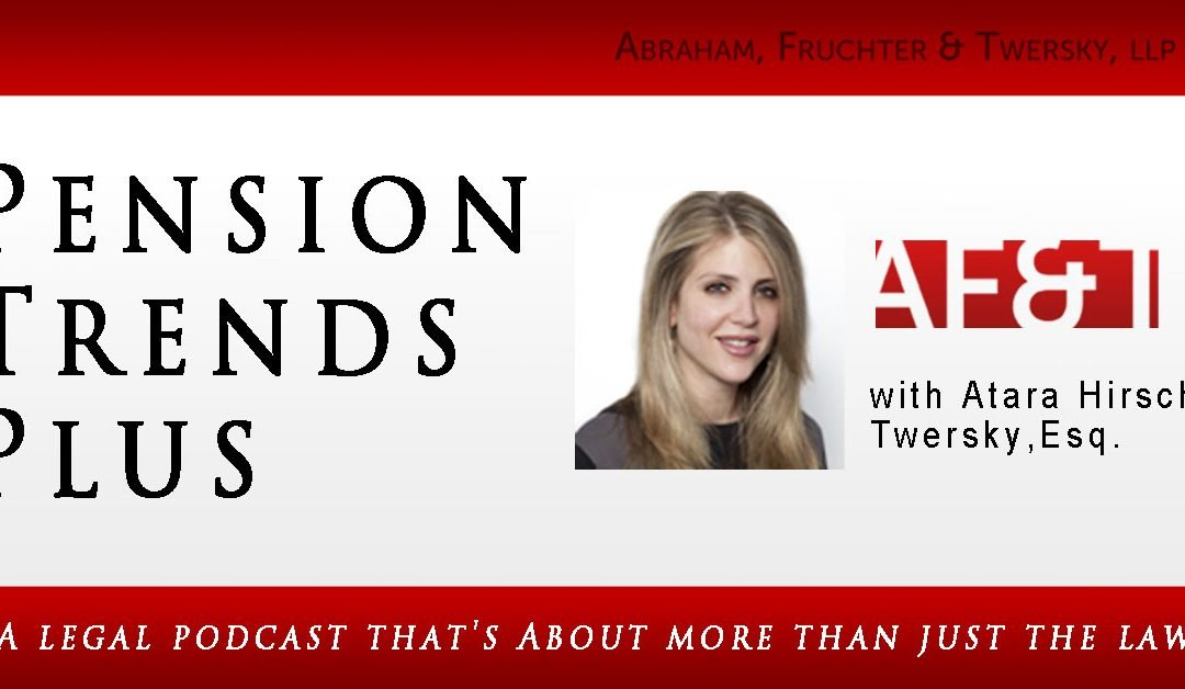 Pensions and Investments Podcast with Atara